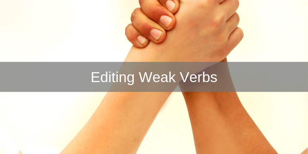 editing weak verbs