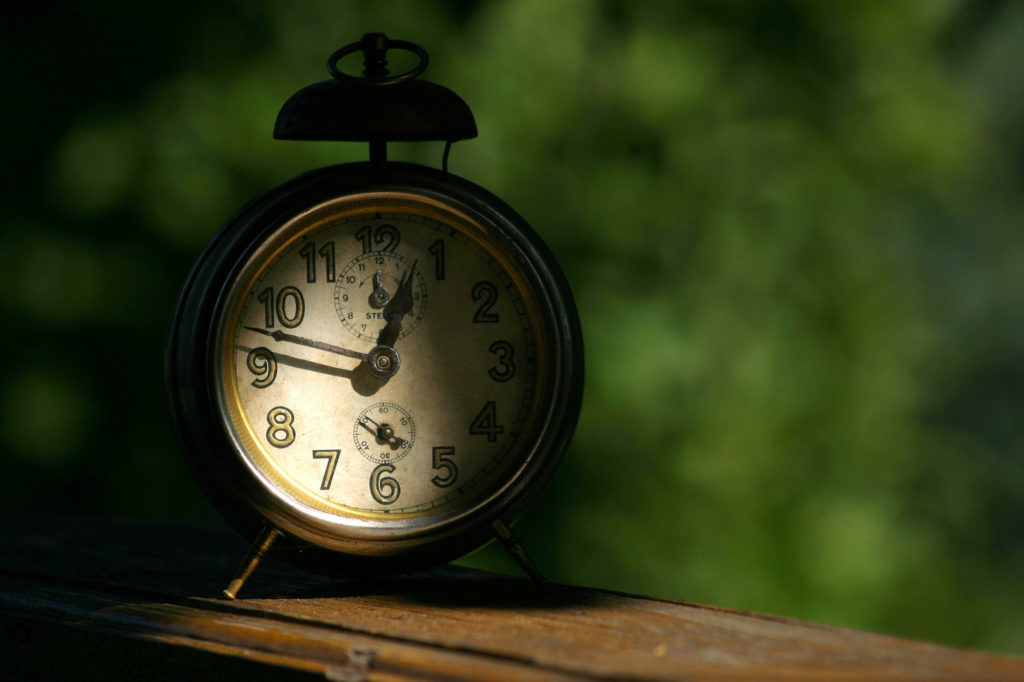 clock for timing your writing session