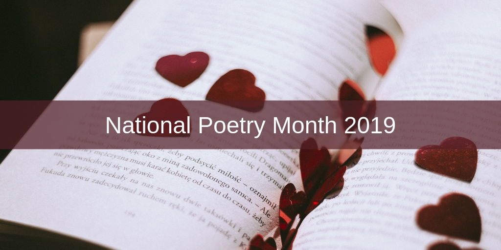 national poetry month april 2019