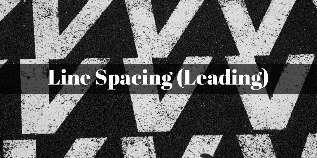 Line Spacing (Leading) title