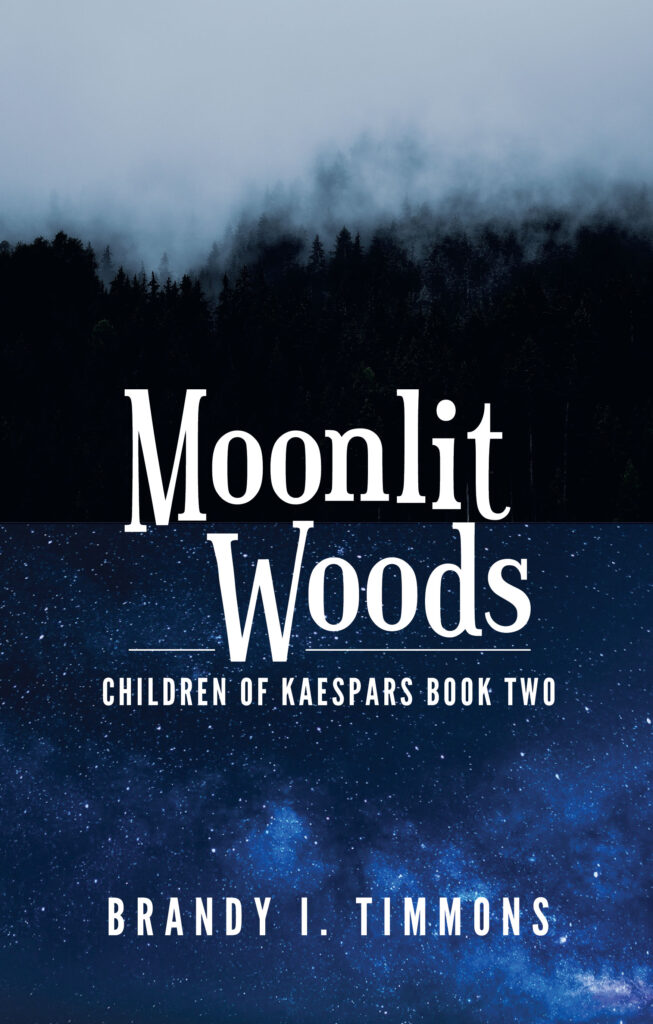 Moonlit Woods by Brandy I Timmons available now on Amazon